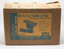 Angelus Color Tank 4X5 Sheet Film Developing Tank