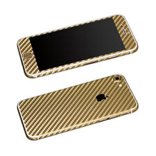 Textured Carbon Fibre Vinyl Sticker Skin For iPhone Wrap Sticker Decal