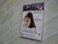 IN AMERICA- Samantha Morton- Paddy Considine - Djimon Hounsou- REGION 4 PAL DVD