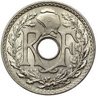 Frankreich - France - Münze - 25 Centimes 1939 - Lindauer - Stempelglanz UNC