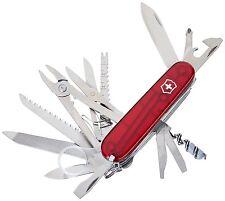 Victorinox Taschenmesser Taschenwerkzeug SwissChamp 1.6795.T rot transparent neu