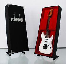 Adrian Smith Guitar Miniature Replica (UK Seller) Iron Maiden - Jackson SDX