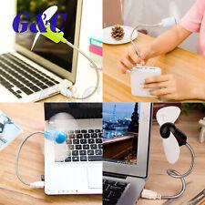 Mini Silent USB Fan gadgets Flexible Cool For laptop PC Notebook For Desktop
