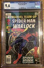 Marvel Team-up #55 -CGC 9.6 -Spider-Man + Adam Warlock -1st Gardener, Stranger