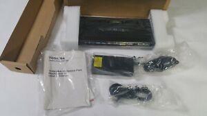 New Genuine Toshiba PA5116U-1PRP Hi-Speed Port Replicator III Dual Monitor 120W