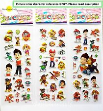 PAW PATROL PUFFY STICKERS. LOLLY BAG FILLER, PARTY PRIZES *BUY 5 GET 5 FREE*