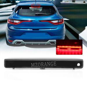 Smoked LED Rear Tail 3rd Brake Light Lamp For Renault Megane Hatchback B95 09-18