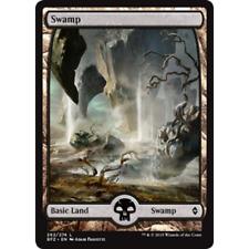 5x MTG Full art Swamp #262 NM - Battle for Zendikar