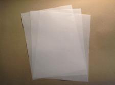 100 sht 17 lb UV Ultra Translucent Vellum Paper 8.5 x 11 Scrapbooking Laser