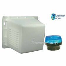 Siren Box with Blue strobe light for Home Alarm or Dummy Alarm
