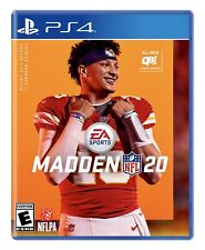 Madden Nfl 20: Playstation 4 Brand New Factory Sealed Ps4 Free Shipping Football