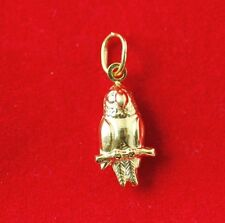 NEW 9ct Yellow Gold Bird Charm 375 Pendant 3D 9KT 9K Fly Wings
