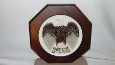 Vintage Goebel Plate Bicentennial 1776-1976 #52-509 Wooden Holder W. Germany