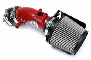 HPS Shortram Air Intake for 2007-2017 Toyota Camry 3.5L V6 with Heat Shield Red