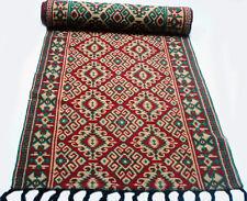 "Antique  vintage  Turkish  very long  rug  runner (41"" x 286"") pure wool   # 65"