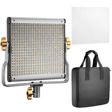 Neewer Dimmable Bi-color 480 LED  with U Bracket Panel Video Light 3200-5600K