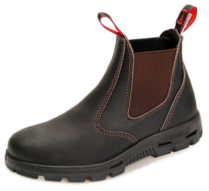 Redback Farm & Country Chelsea Work Boots Stiefelette BUBOK Braun