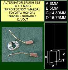 12 Volt Spazzole alternatore per saldatura Plus si adatta Nippon TOYOTA SUBARU HONDA 140565