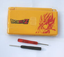 Nintendo DS Lite Full Replacement Housing Shell Screen Lens Dragon Ball Z US!