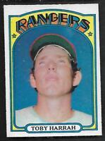 1972 Topps O-Pee-Chee OPC #104 Toby Harrah RC Rangers Looks NM/MT EX/EX+