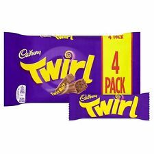 Cadbury Twirl 4 per pack 136G - Sold Worldwide From UK