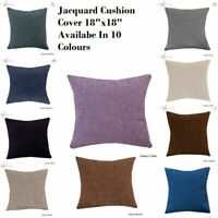 "Decoration Home Cushion Covers Sofa Cushion Jacquard 18""x18"" Cushion Covers UK."