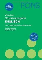 PONS Wörterbuch  Englisch: Studienausgabe. Rund 315.000 ... | Buch | Zustand gut