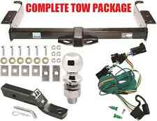 1996-1999 CHEVY EXPRESS VAN COMPLETE TRAILER HITCH TOW PACKAGE ~ NO DRILL EASY