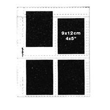 "Matin 50 X Negative Clear Sheets 4x5"" Slide 9x12cm Photo Films Sleeves Storage"