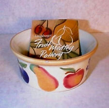 Longaberger Rare Retired Pottery Fruit Medley Ramekin-New In Box-Shop Store !
