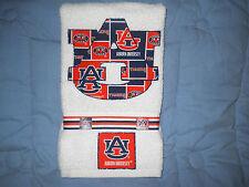 Auburn University Auburn Tigers Hand Towel Bathroom, Kitchen Bar Grill Grad Gift