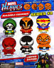 NEW MARVEL BUILDABLE BALL SET #2 FIGURES 6 DIFFERENT YOU PICK - OPEN-BUILD-PLAY!