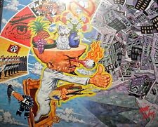 "MAD ARTIST ""Decorator General"" by ROBERT WILLIAMS original poster scarce 1989"