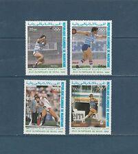 Mauritanie PA jeux olympiques  Séoul  1988  num: 259/62   **