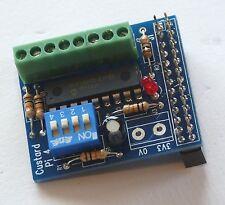 Custard Pi 4 Ready Built - 8 Digital I/O card using I2C for Raspberry Pi