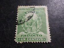 Perù, Peru, 1896 Francobollo Classico 107 Timbrato, Manco Capac , VF Usato Stamp