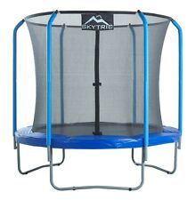 SKYTRIC 8 FT. Trampoline with Top Ring Enclosure System equipped