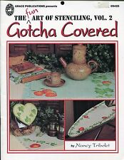 The Art of Stenciling Vol 2 Gotcha Covered Decorative Book by Nancy Tribolet
