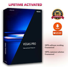 Sony Vegas Pro 16✔️Professional Video Editing 64 Bit✔️Fast Digital Delivery