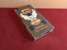 """RARE """"HARLEY-DAVIDSON"""" 1994 SkyBox Factory Sealed Box 90 Card & Exclusive Patch"""