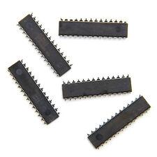 5 Pcs New ATMEGA8A-PU ATMEGA8A DIP-28 8-bit In-System Programmable Flash
