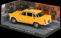 Checker Marathon Taxi from James Bond in Yellow (1:43 scale by Ex Mag DY077)