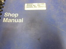 Link Belt Model LS-138H Crane Repair Shop Manual