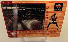 Michael Jordan 1997-98 Upper Deck Diamond Vision Highlight Reel TAKING THE FIFTH
