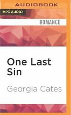 The Sin Trilogy: One Last Sin by Georgia Cates (2016, MP3 CD, Unabridged)