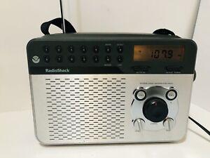 Radio Shack NOAA Extreme Range AM FM Weather Radio Cat. 12-150 - Tested!
