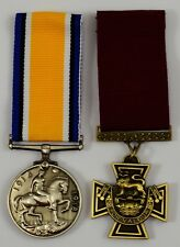 Pair of Full Size Replica Service/Dress Medals. Victoria Cross, Imperial Forces