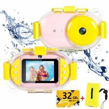Kids Underwater Camera Dual 8MP 1080P Super HD Waterproof Digtial Camera