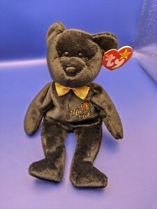 Rare 1999 Ty Beanie Baby The End Bear With Tag Errors