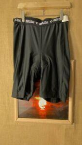 Pearl izumi unisex black padded cycling shorts size L